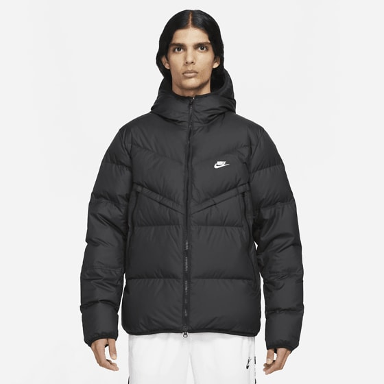 Nike M Nsw Sf Windrunner Hd Jkt Jackor BLACK/BLACK/SAIL