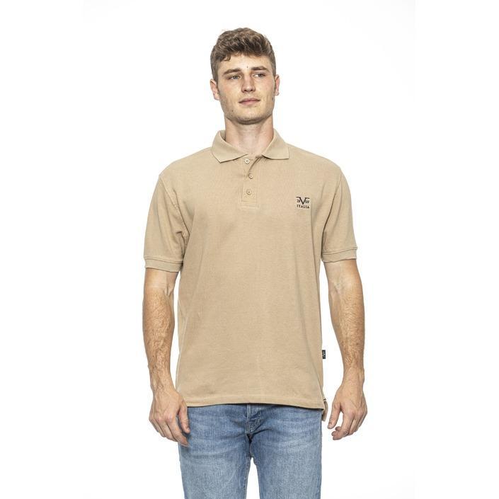 19v69 Italia Men's Polo Shirt Beige 185451 - beige L