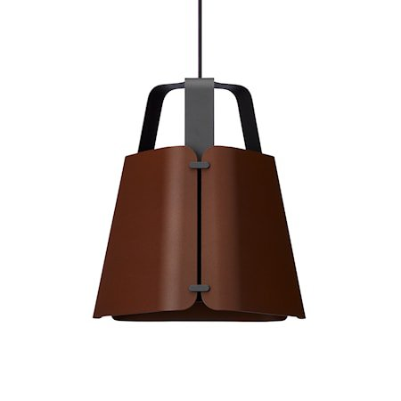Fold Pendel Antrasitt/Mørk Ruststruktur 34 cm
