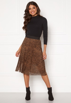Happy Holly Alaina mesh skirt Leopard 44/46