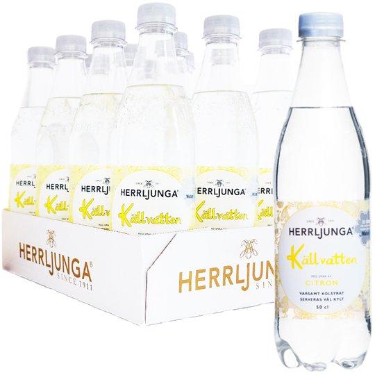 Hel Platta Kolsyrat Vatten Citron 12 x 50cl - 54% rabatt