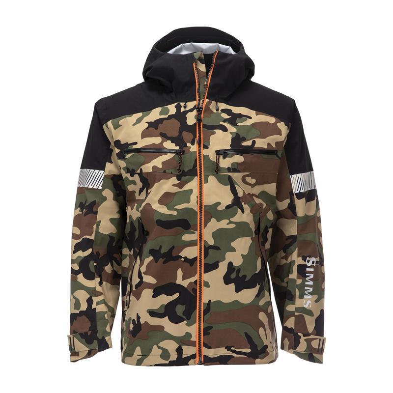 Simms CX Jacket Woodland Camo XXL