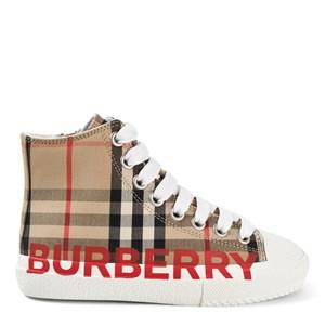 Burberry Vintage Check High-Top Sneakers Beige 31 (UK 12.5)