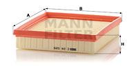 Ilmansuodatin MANN-FILTER C 24 025
