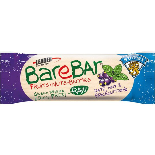 "Rawbar ""Mint & Black Currant"" 40g - 70% rabatt"