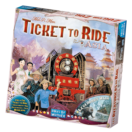 Ticket to Ride - Asia