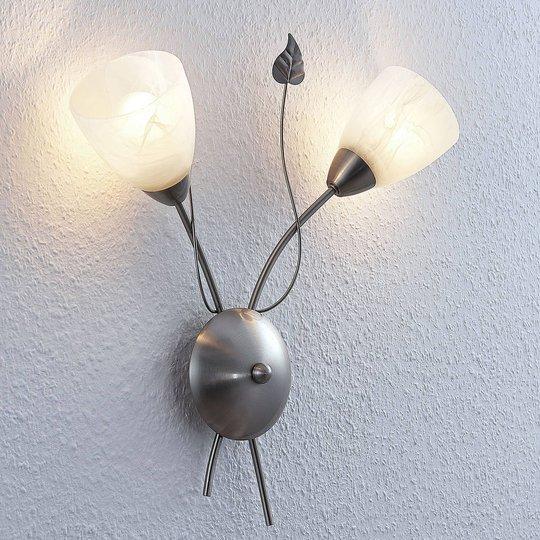 Lindby Yannie LED-seinävalaisin, 2-lamppuinen