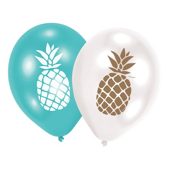 Ballonger Ananas - 6-pack