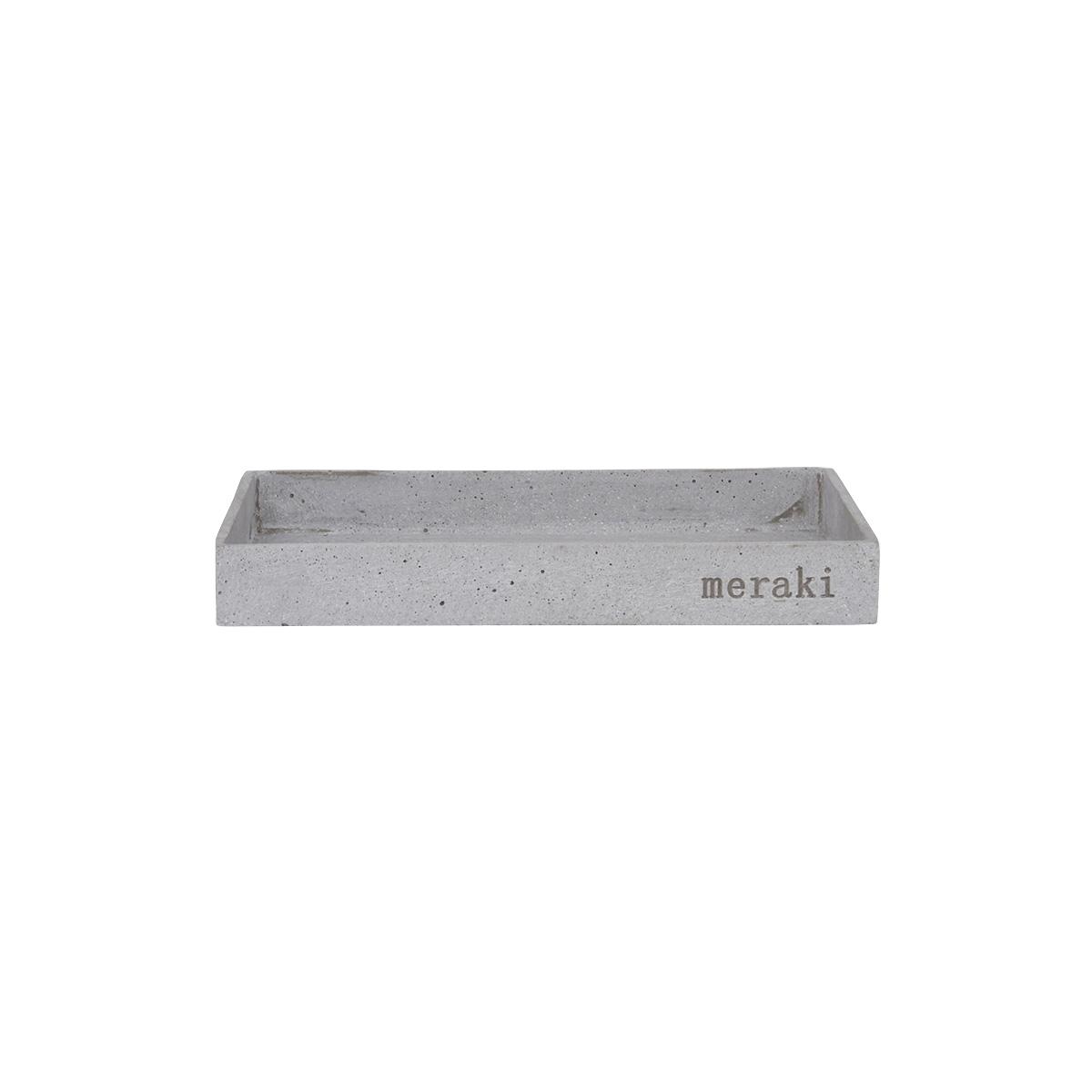 Meraki - Bathroom Tray - Grey (mkda031/307870031)