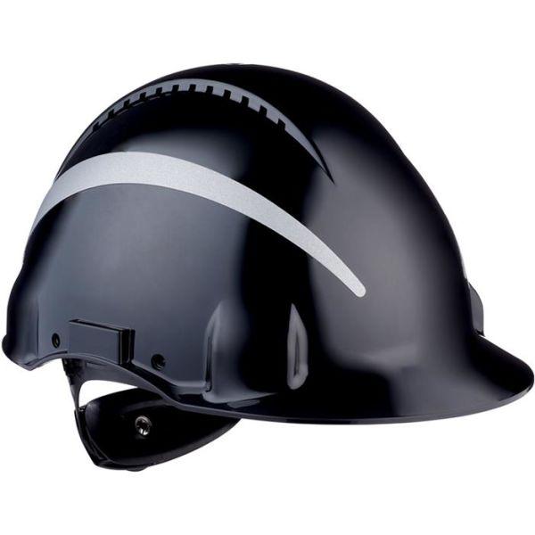 3M G3000 Suojakypärä Heijastimilla Musta