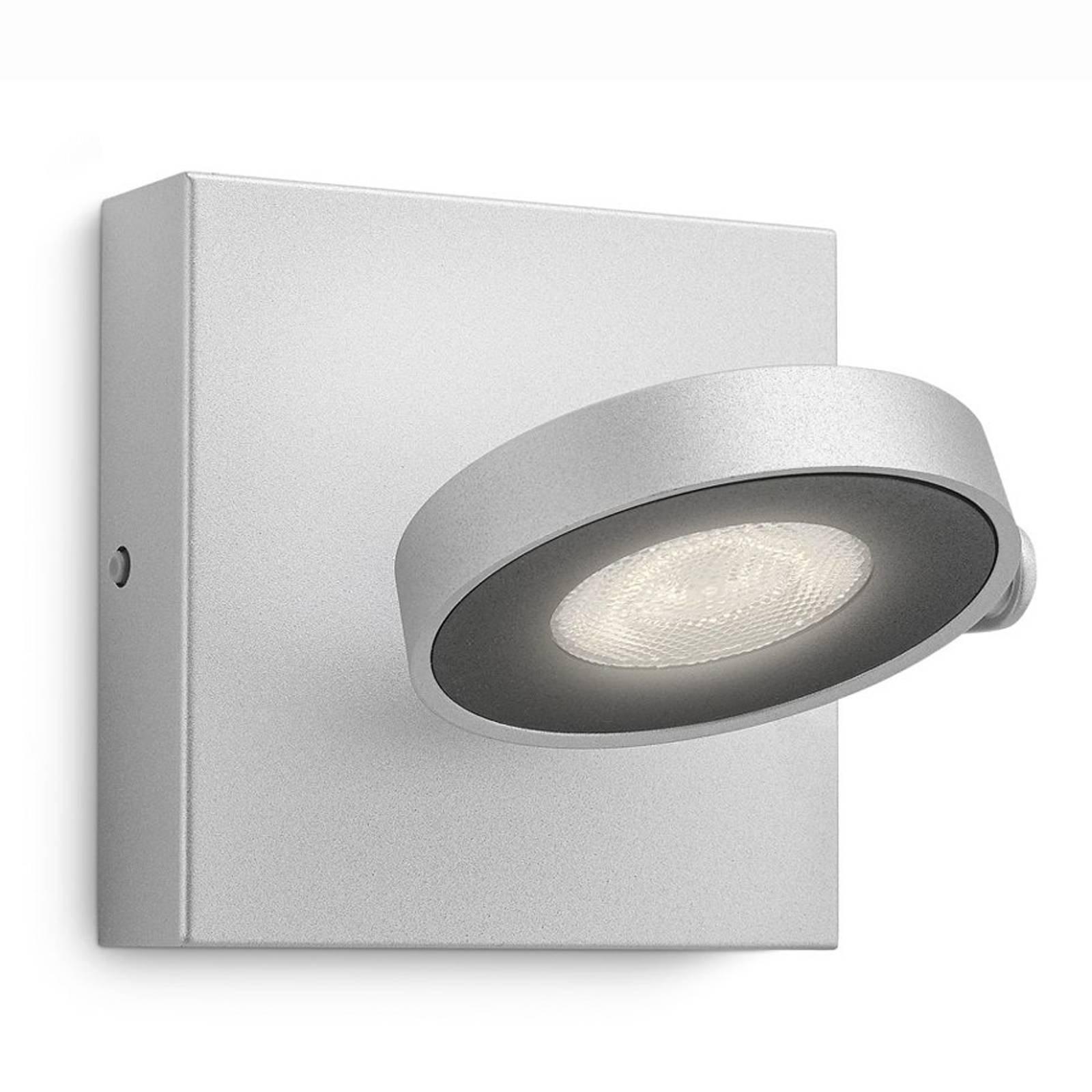 Clockwork - LED-vegglampe i aluminiumsoptikk