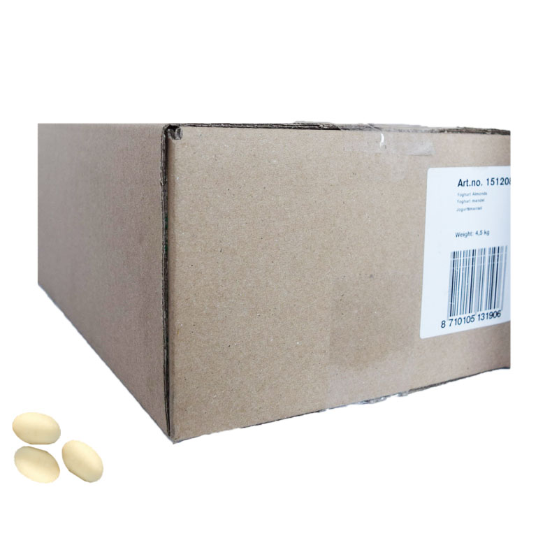 Hel Låda Yoghurt Mandlar 4,5kg - 63% rabatt