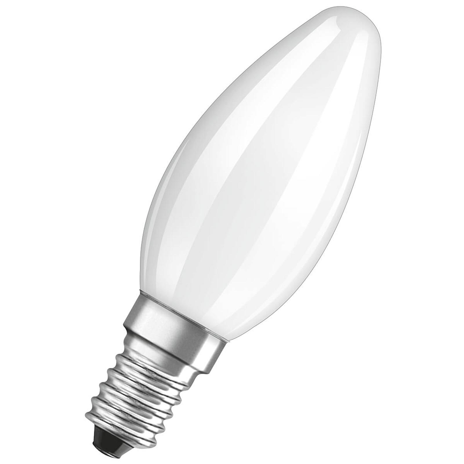 OSRAM-LED-kynttilälamppu E14 4W 4 000 K matta