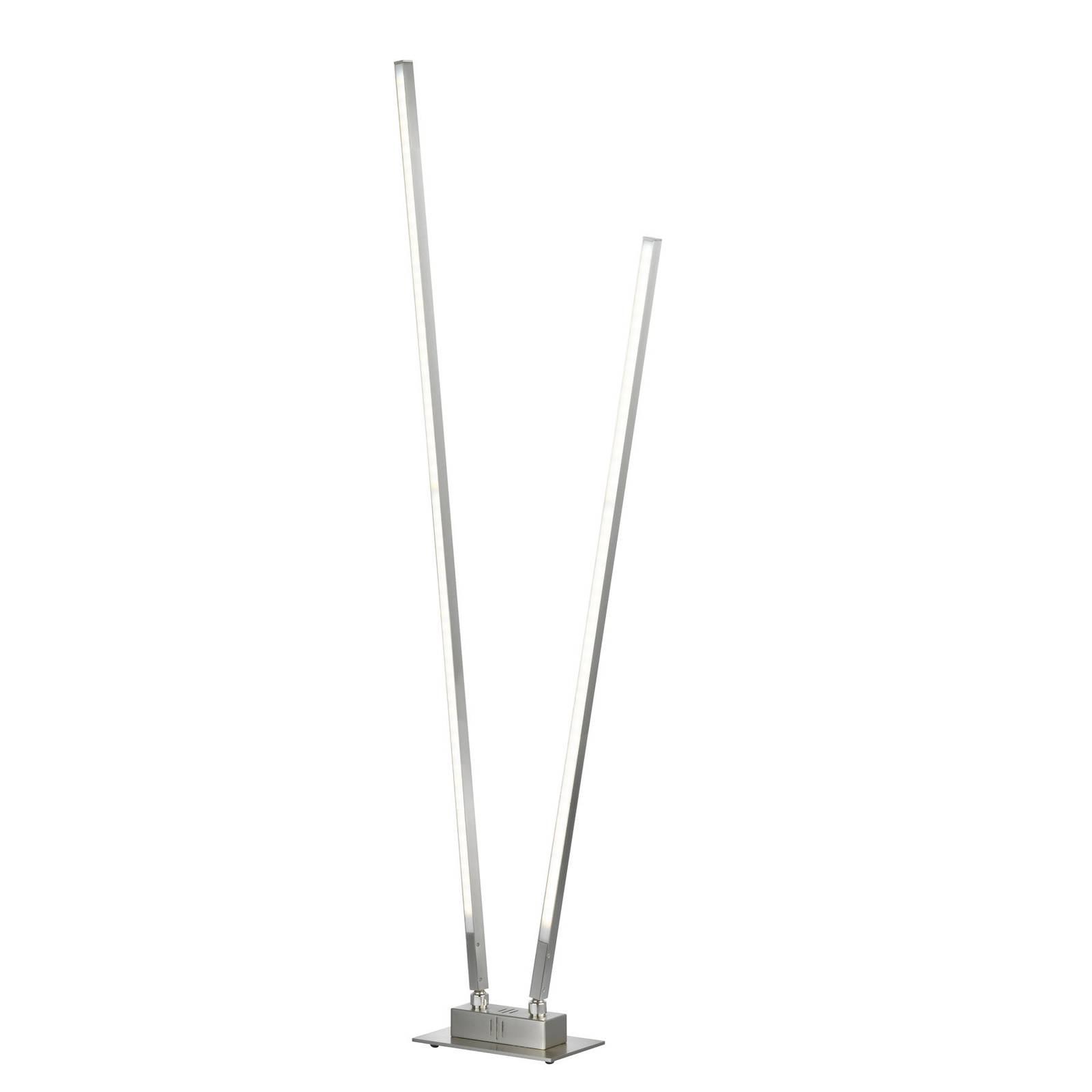 LED-lattiavalo Z-Carla 2-lamppuinen korkeus 144 cm