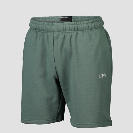 Essential Sweat Shorts, Dark Sage