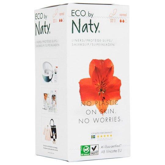Naty Miljövänliga Trosskydd normal, 32 st