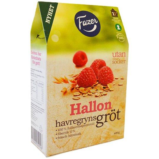 Havregrynsgröt Hallon 400g - 53% rabatt