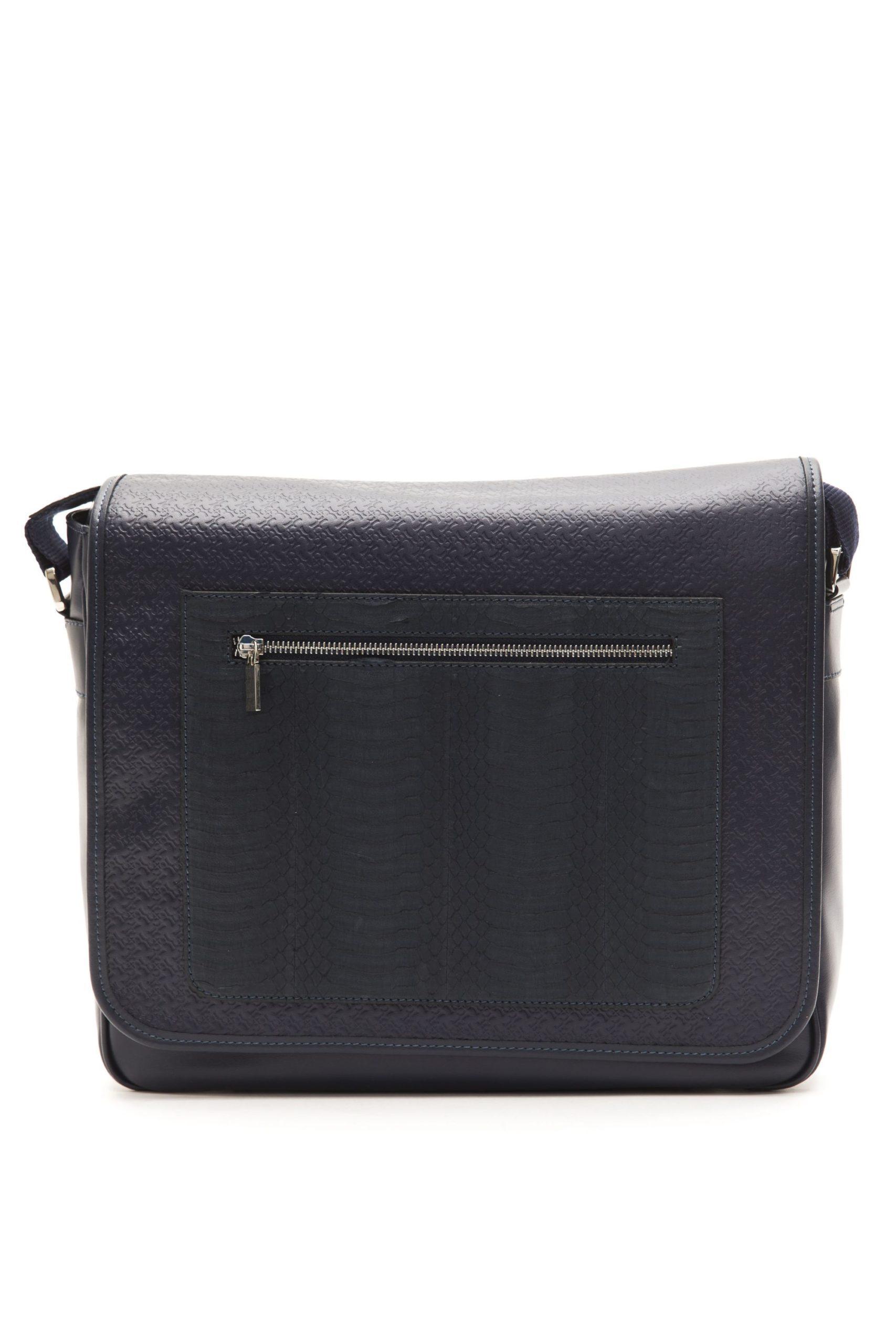 Billionaire Italian Couture Men's Messenger Bag Blue BI1004093