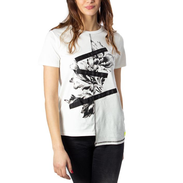 Desigual Women's T-Shirt White 170608 - white XS