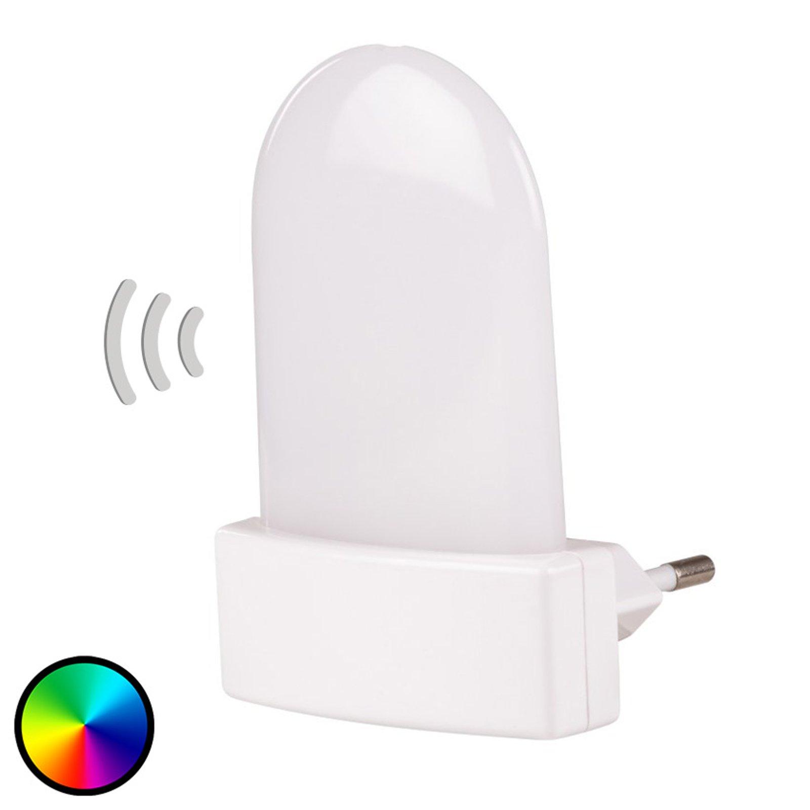 Bunda Sensor RGB LED-stikkontaktlampe