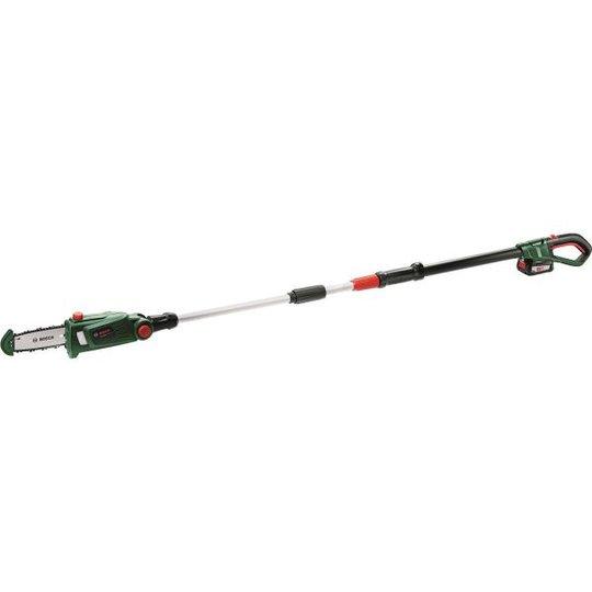 Bosch DIY Universal Chain Pole 18 Oksasaha 2,5Ah akulla ja laturilla