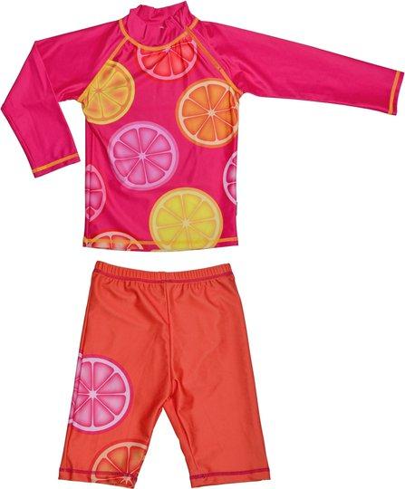 Swimpy UV-Sett, Pink Lemon 110–116