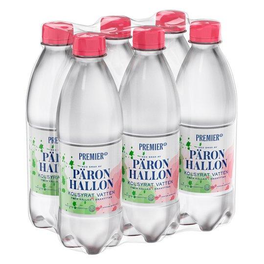 Kolsyrat Vatten Hallon/Päron 6P - 42% rabatt