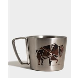 United By Blue Geo Bison 12Oz Convertible Mug