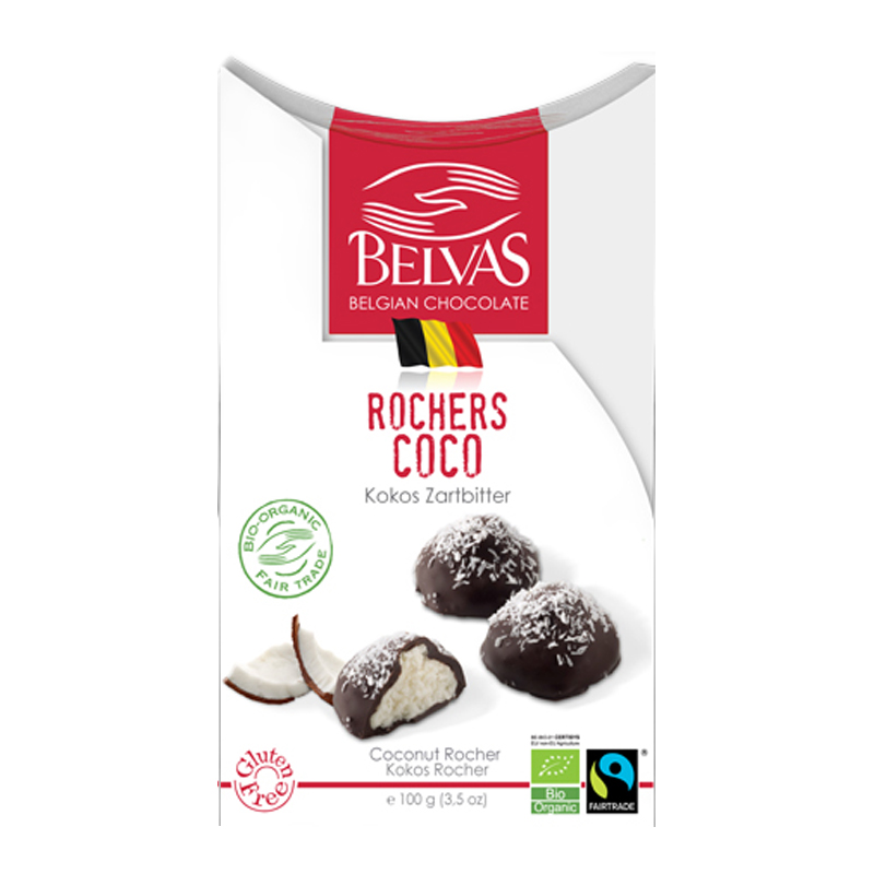 Eko Kokostoppar Mörk Choklad 100g - 62% rabatt