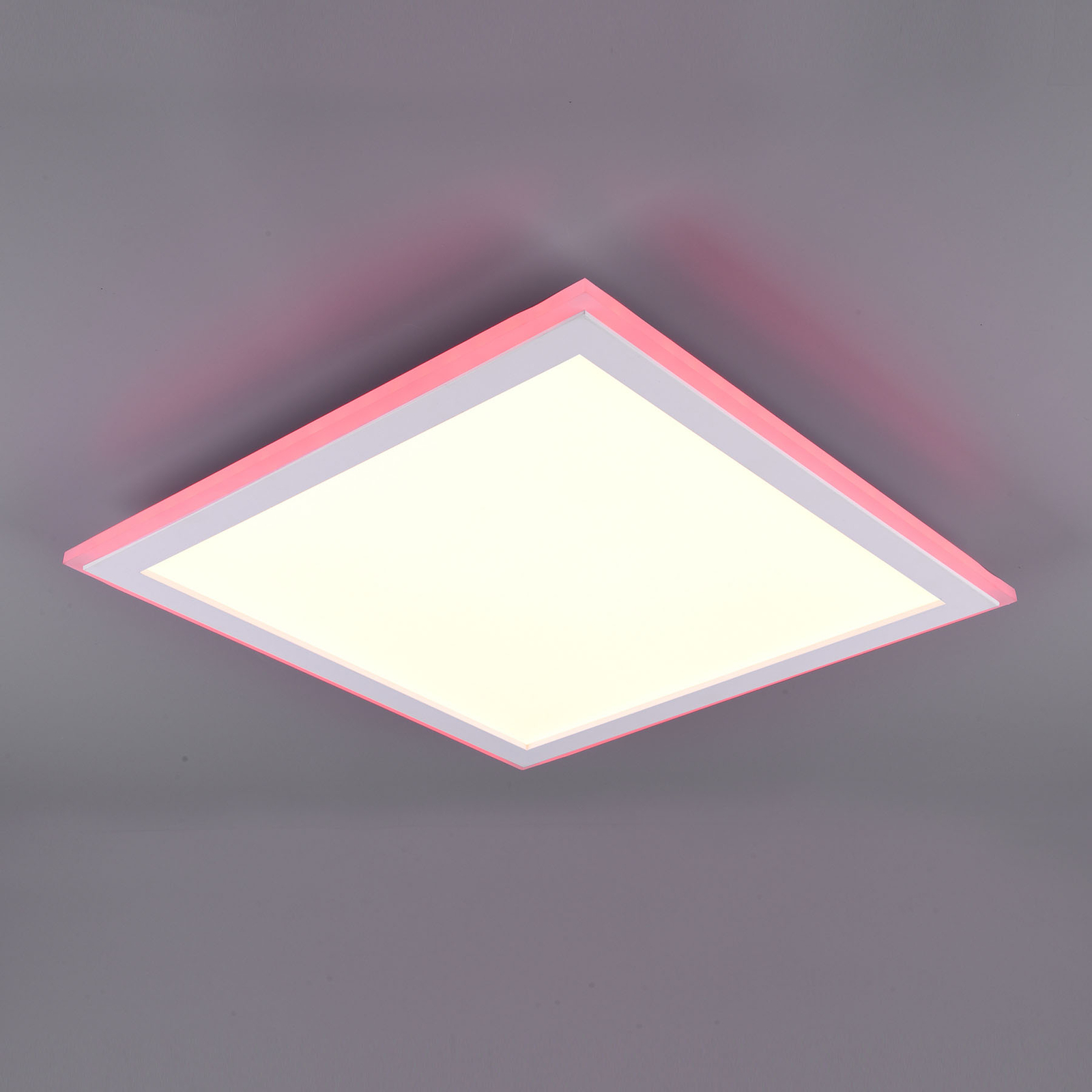 LED-paneeli Columbia RGBW, kaukosäädin, 45x45 cm