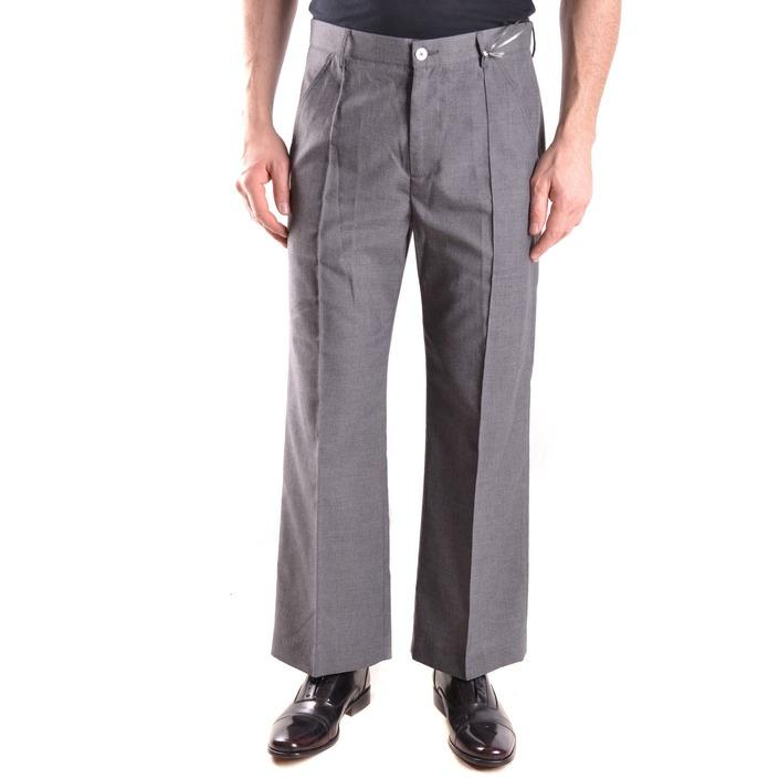 Daniele Alessandrini Men's Trouser Grey 163130 - grey 46