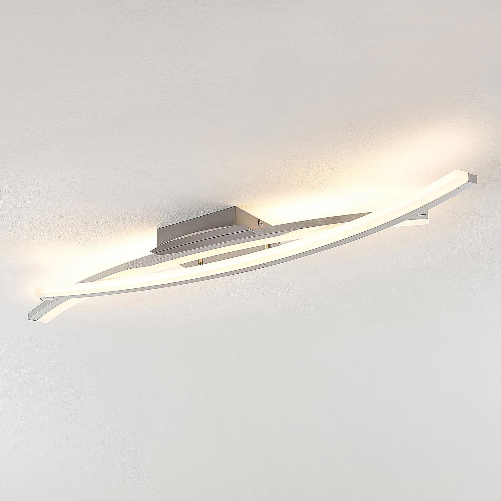 Lindby Elarit -LED-kattovalaisin, kromattu