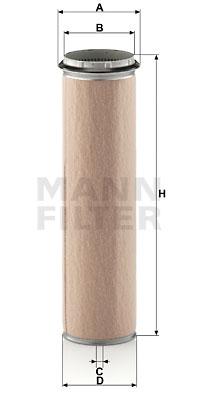 Toisioilmasuodatin MANN-FILTER CF 1300