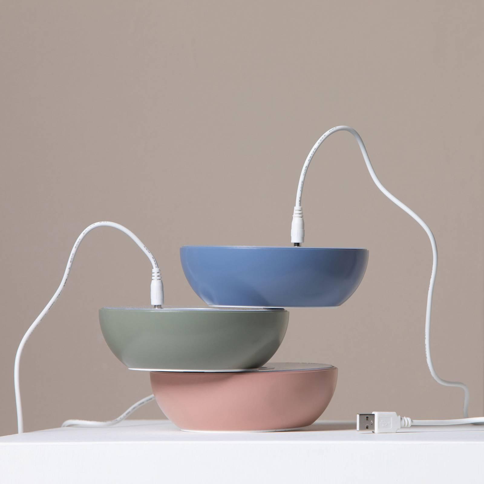 Axolight Float LED-designer-pöytälamppu, sininen