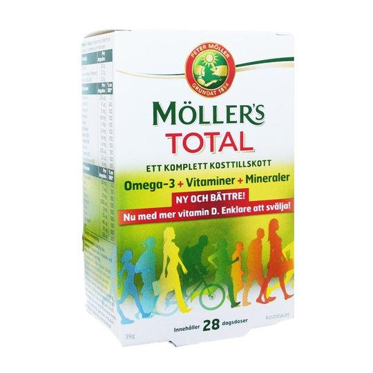 Kosttillskott Möllers Total - 75% rabatt