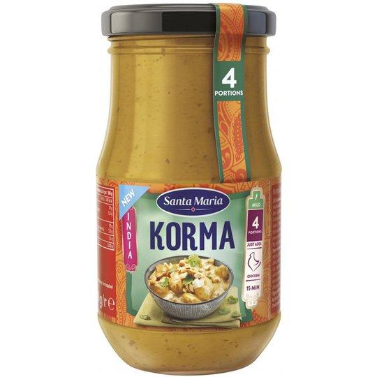 """Sås """"Korma"""" 350g - 43% rabatt"""