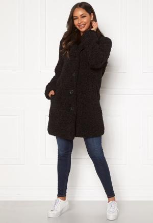 Happy Holly Nicole teddy coat Black 32/34