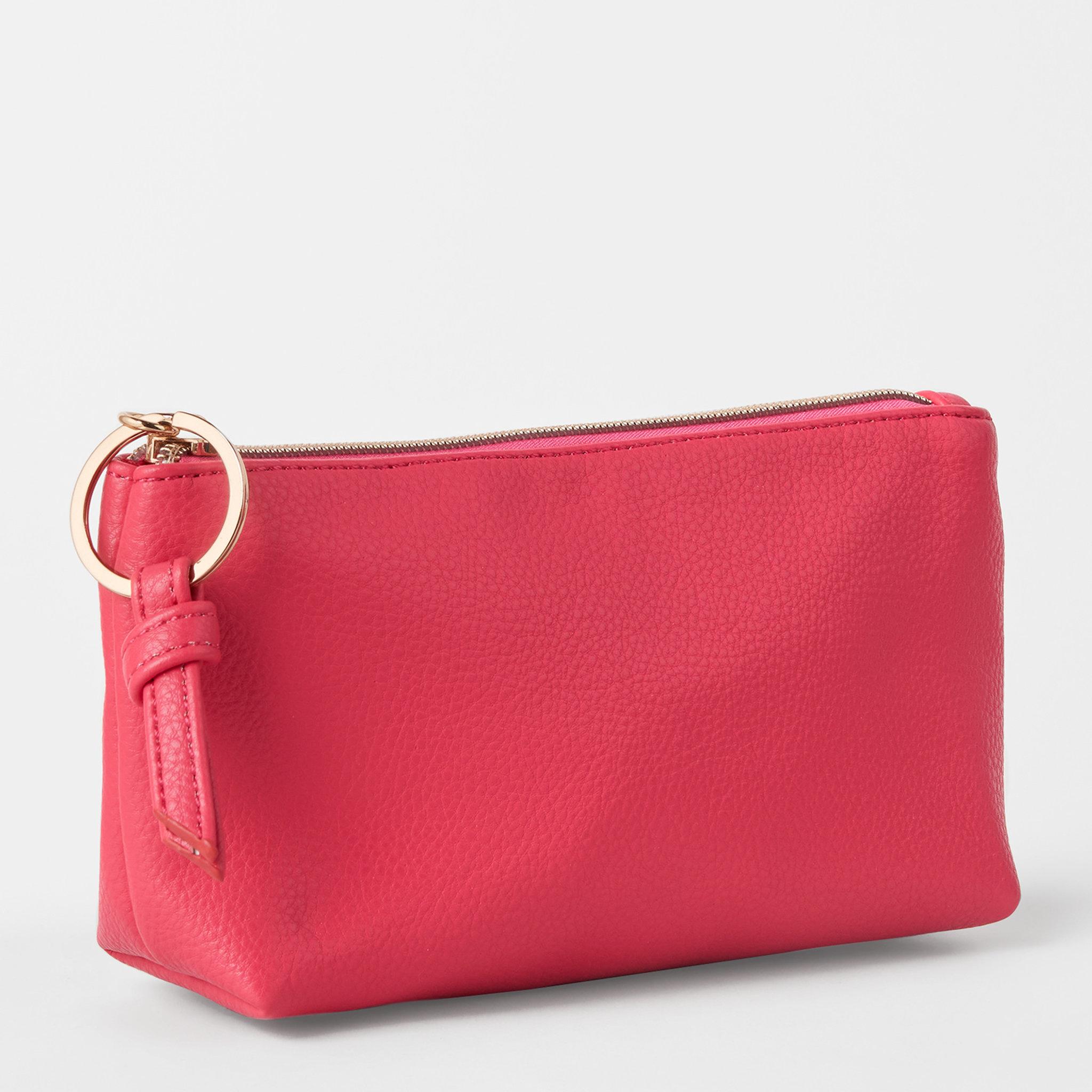 Classic Make Up Bag Vibrant Pink