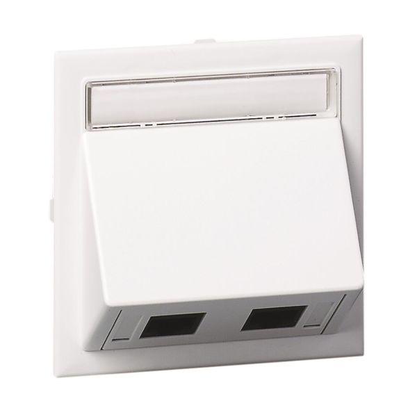 Schneider Electric 5970435 Tilkoblingssett for 2 koblinger, RJ45-kontakt