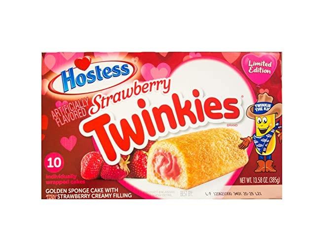 Hostess Twinkies Strawberry 385g