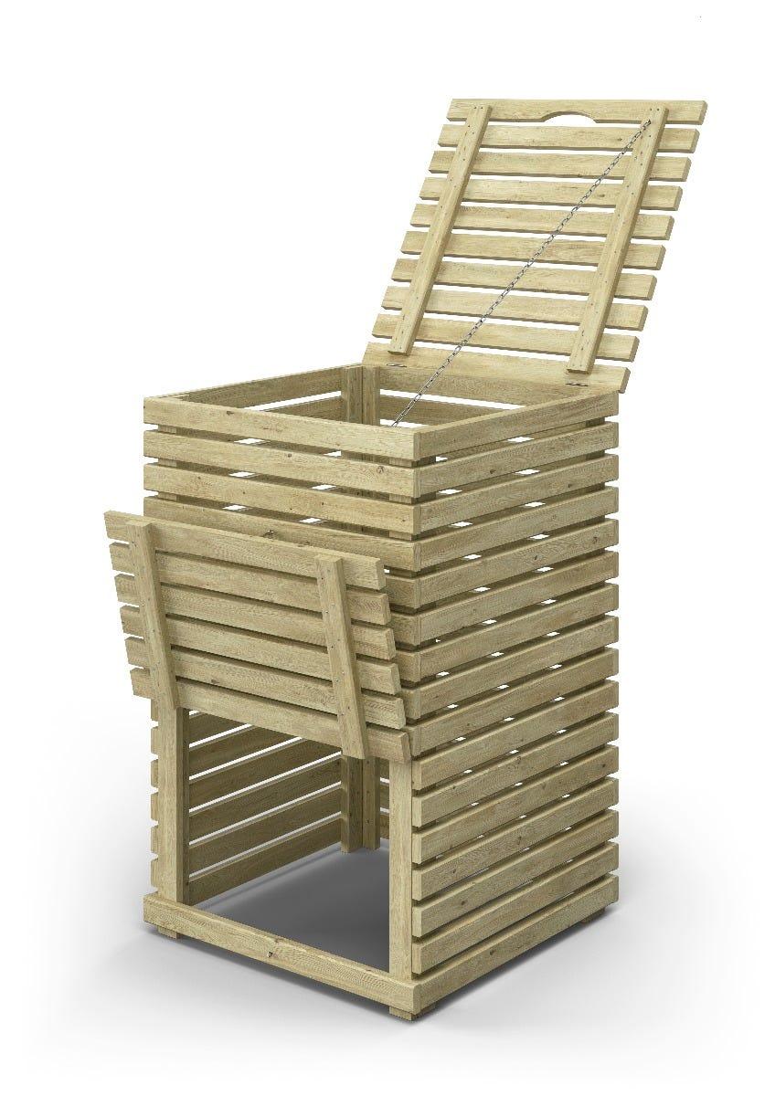 Jabo Kompost Horizont 60x60x95 impregnert gran fsc