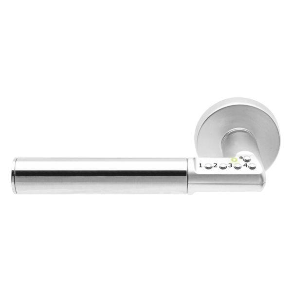 ASSA 8810 Dørhåndtak med kodelås Høyre
