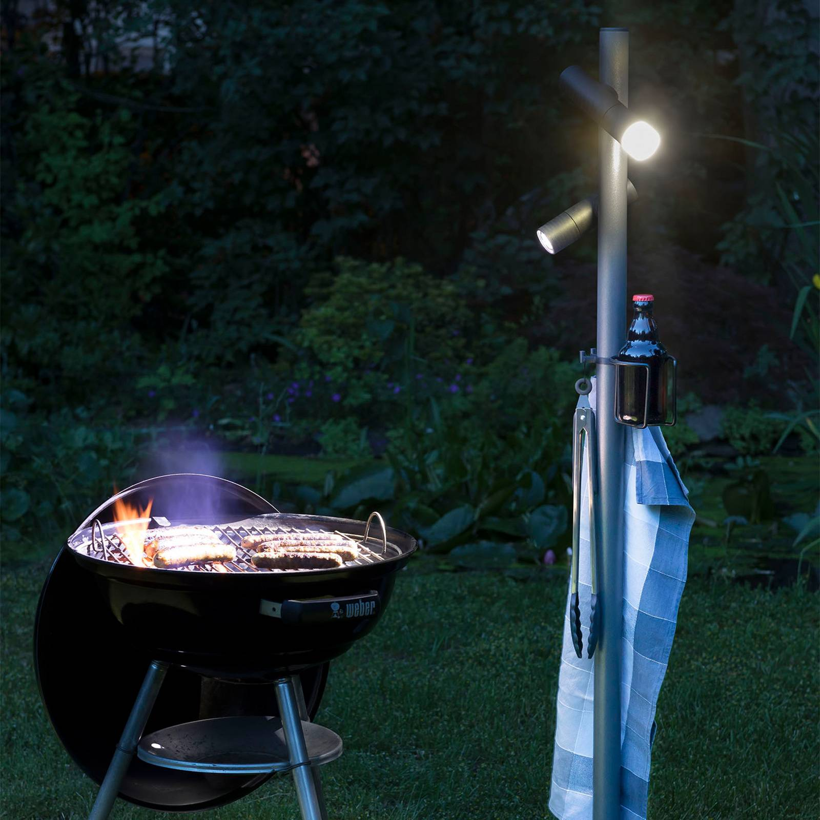 LED-terassivalaisin Paul Basic+, 2-lamppuinen