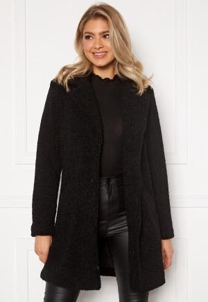 VILA Liosi Teddy Coat Black 34