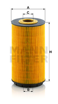 Öljynsuodatin MANN-FILTER HU 8010 z