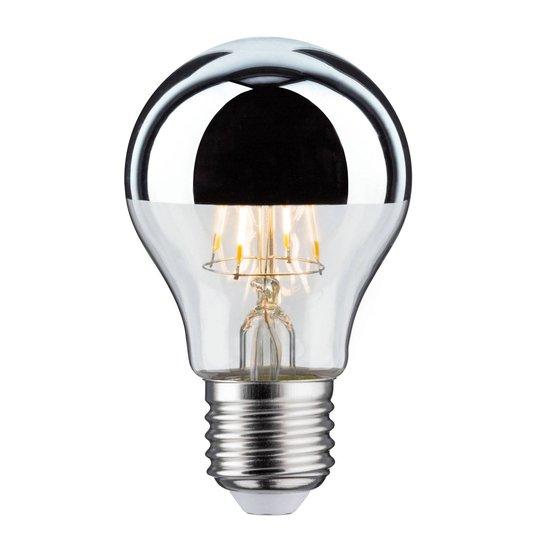 LED-lamppu E27 pisara 827 pääpeili 4,8 W