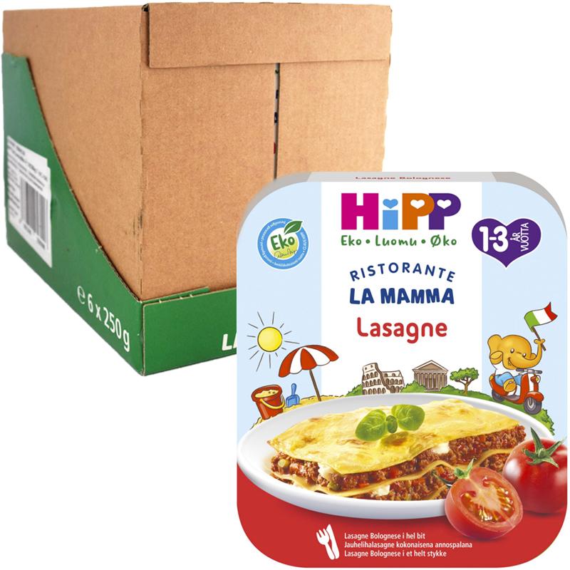 Eko Hel Låda Barnmat Lasagne 6 x 250g - 43% rabatt