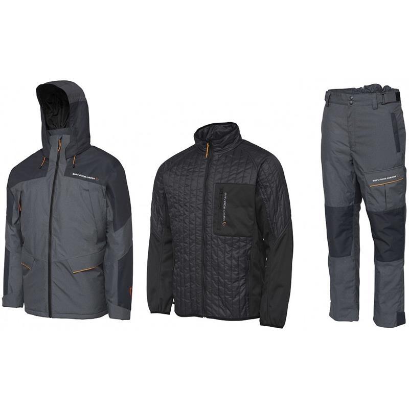 Savage Gear Thermo Guard 3-pcs Suit XXL Black