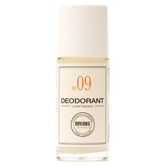 BRUNS Products Deodorant nr 09 - Oparfymerad, 60 ml