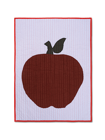 Apple Quiltad Pläd Lilac